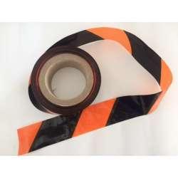 Barricade Tape Orange / Black 2