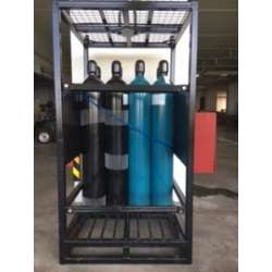 Cylinder Rack Stand Storage Holder Shelving Gas
